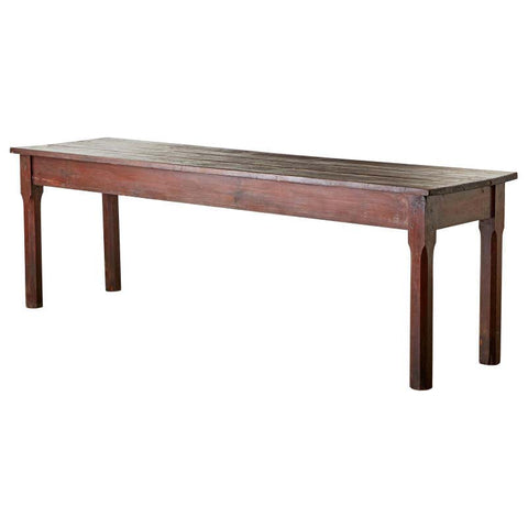 Rustic Italian Pine Farmhouse Dining Table or Console