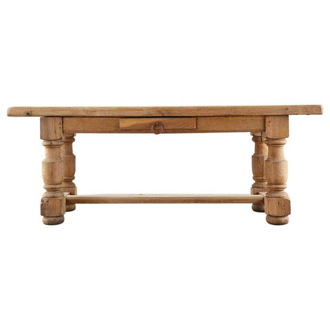 19th Century Country French Oak Farmhouse Dining Table