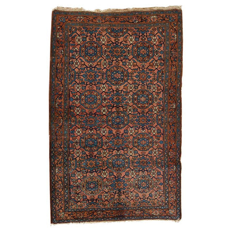 Antique Persian Hamadan Rug Modern Style