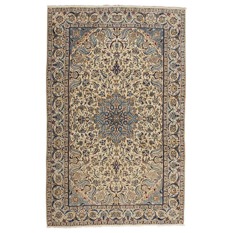 Mid-20th Century Persian Nain Rug