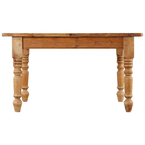 Country English Pine Farmhouse Dining Table