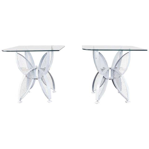 Pair of Tempestini for Salterini Butterfly Drink Tables