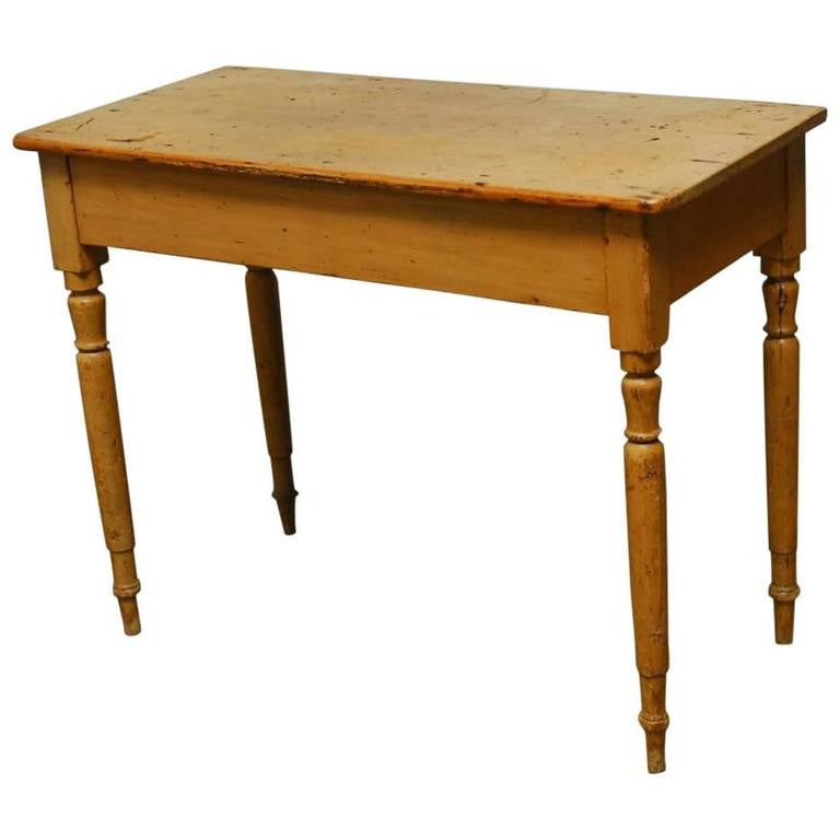 19th Century French Pine Console Table