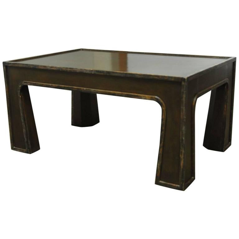 Chinese Modern Lacquered Coffee Table