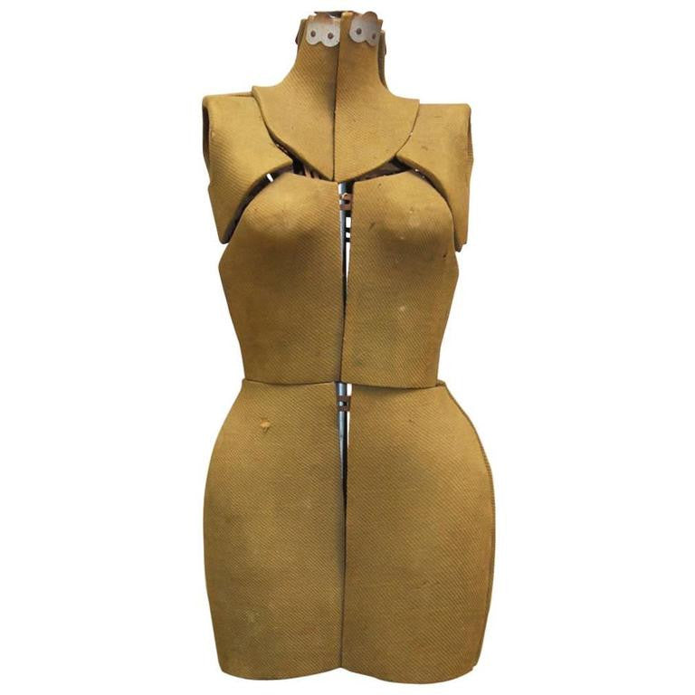Vintage Adjustable Dress Form Mannequin