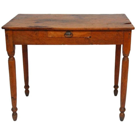 19th Century French Oak Farm Table or Work Table