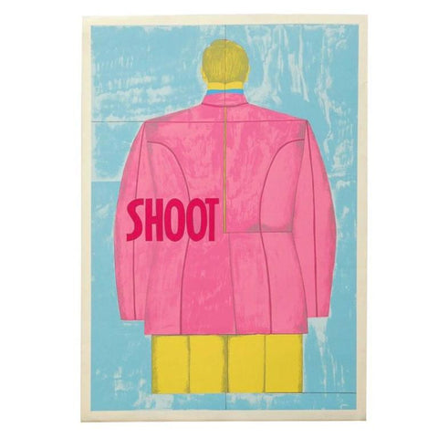 1971 Print by Richard Lindner 'Shoot' (Back)