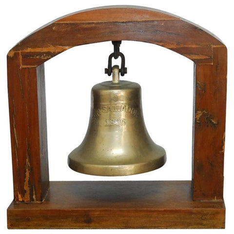 """San Salvador"" Church Bell Getaria, Spain, circa 1895"
