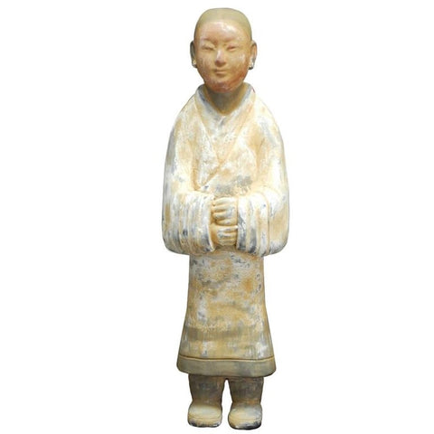 Chinese Han Style Ceramic Pottery Figure