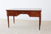 French Louis XVI Style Mahogany Writing Table Desk
