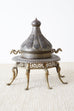 19th Century Moorish Brass Censer From Turkey