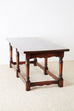 Italian Baroque Style Refectory Table or Library Table