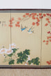 Japanese Four-Panel Spring Byobu Folding Screen