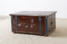 18th Century Swiss Polychrome Decorated Blanket Chest Trunk