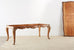 French Louis XV Period Circassian Walnut Burl Dining Table