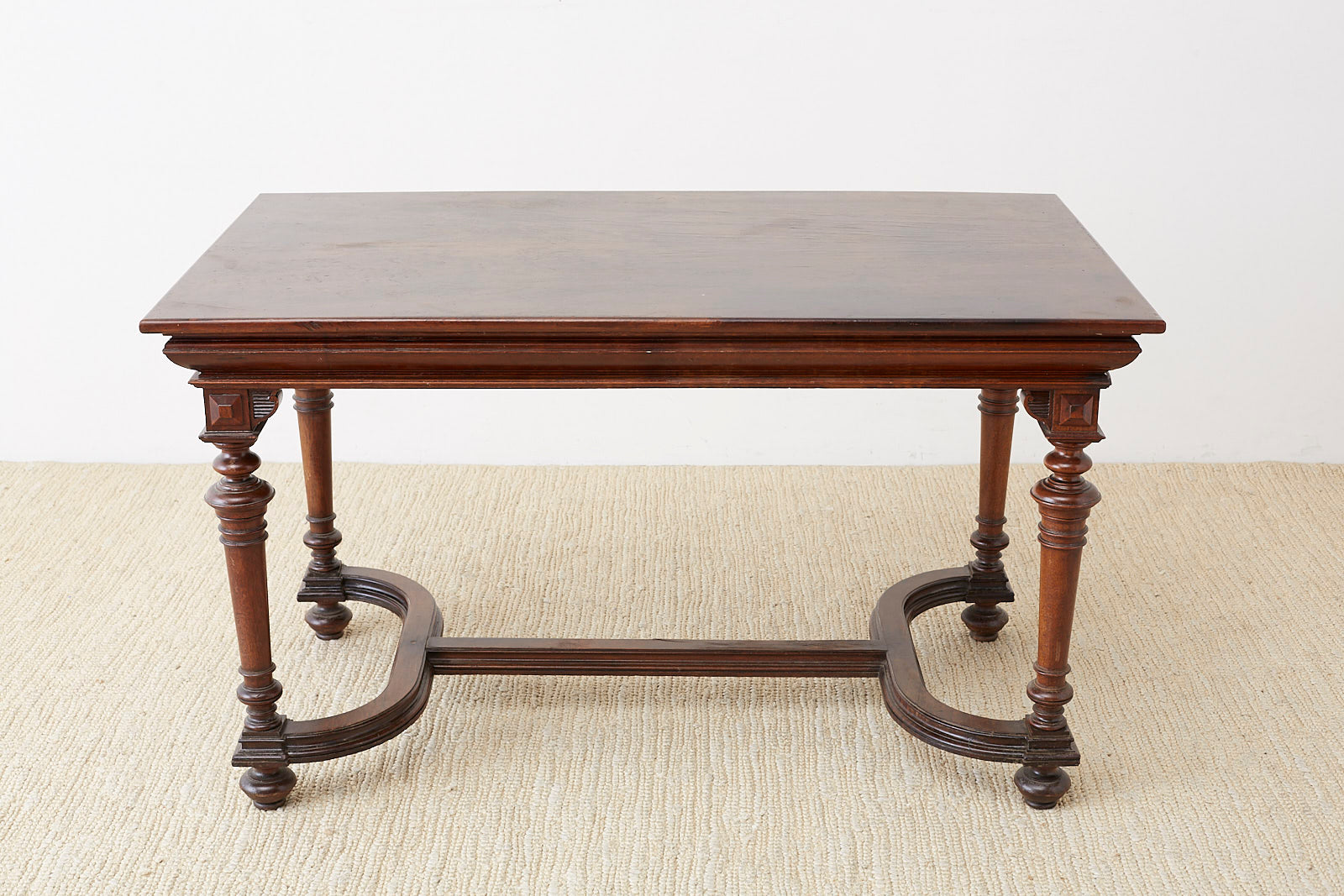19th Century French Napoleon III Library or Writing Table