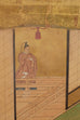 Japanese Edo Period Kano School Six Panel Screen