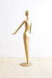 Abstract Tulip Form Female Mannequin Display Sculpture
