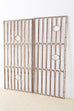 Pair of French Art Deco Iron Doors Gates or Grills