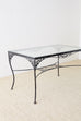 Salterini Style Wrought Iron Patio Garden Table