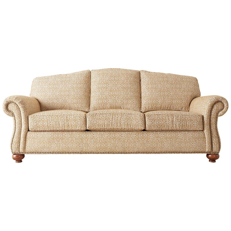 English Style Ethan Allen Three-Seat Sofa