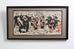 Japanese Meiji Period Triptych Print Imperial Army Officers