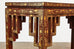 Chinese Qing Lacquered Leather Altar Console Table