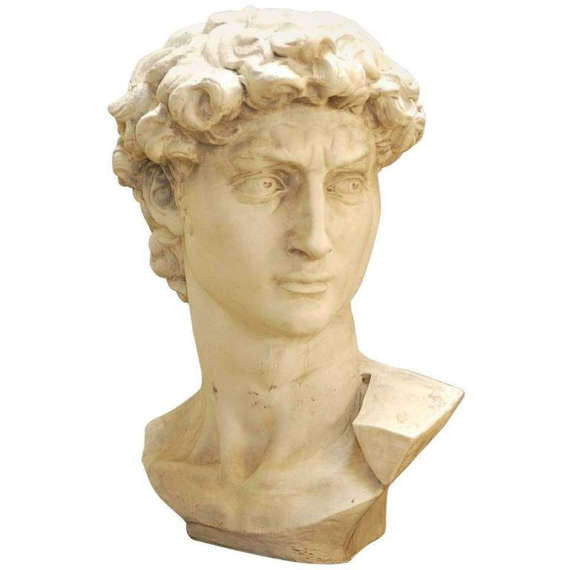 Monumental Bust of Michaelangelo's David