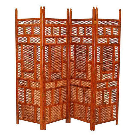 Carved Indian Wood Screen