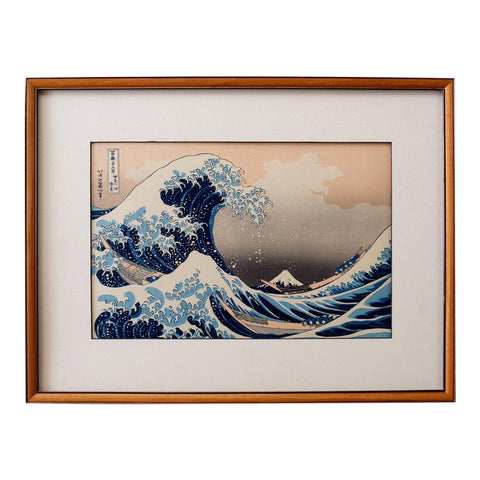 The Great Wave Woodblock Print After Katsushika Hokusai