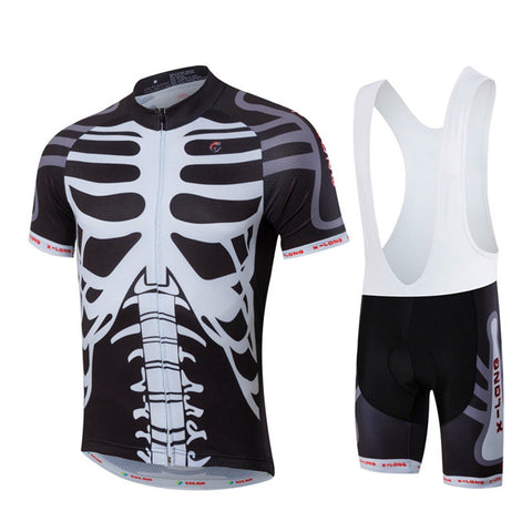 Squeleton Jersey, Bib and shorts available
