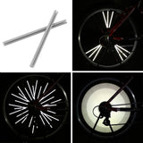 12pcs/set Wheel Reflective add-ons for Spokes, Road or Mountain Bike