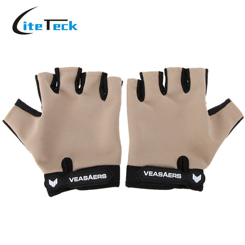 Outdoor Sports Half Finger Gloves, FIVE colours and styles to choose from.