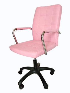 Ava Pink Office Chair