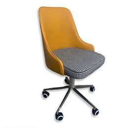 Ingrid Swivel Office Chair (Purple)
