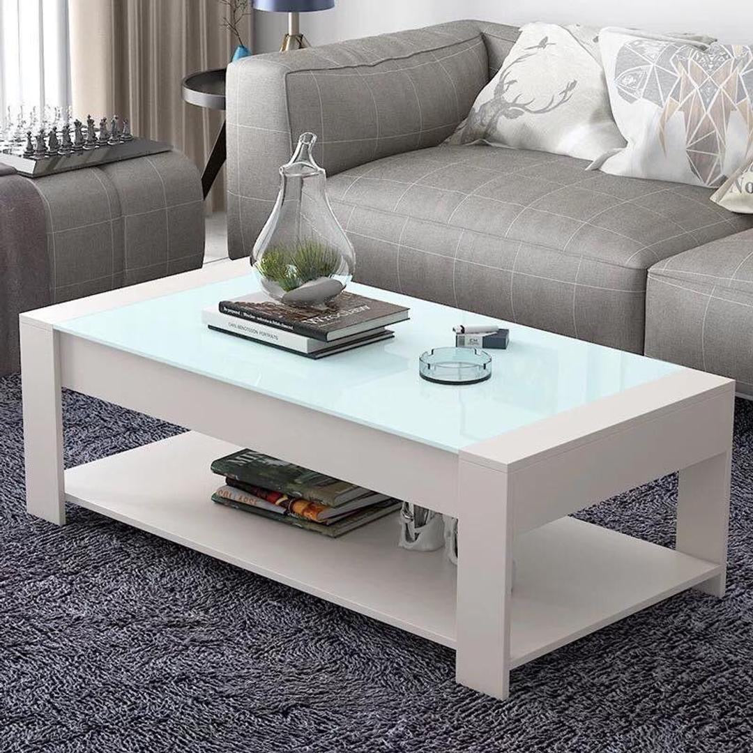 Caleb center table (White)