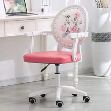 Load image into Gallery viewer, Floral Victorian Pink Office Chair