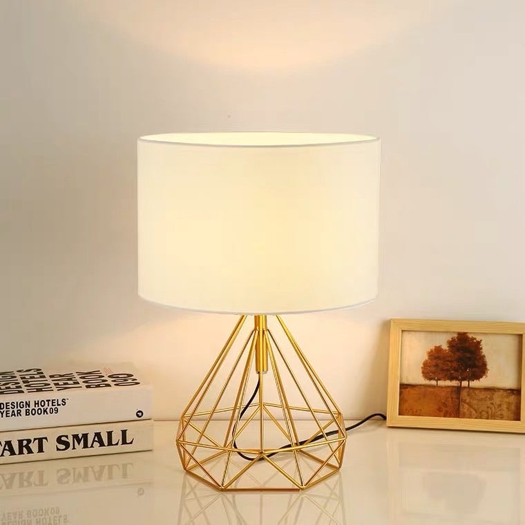 Lacey Gold Lamp