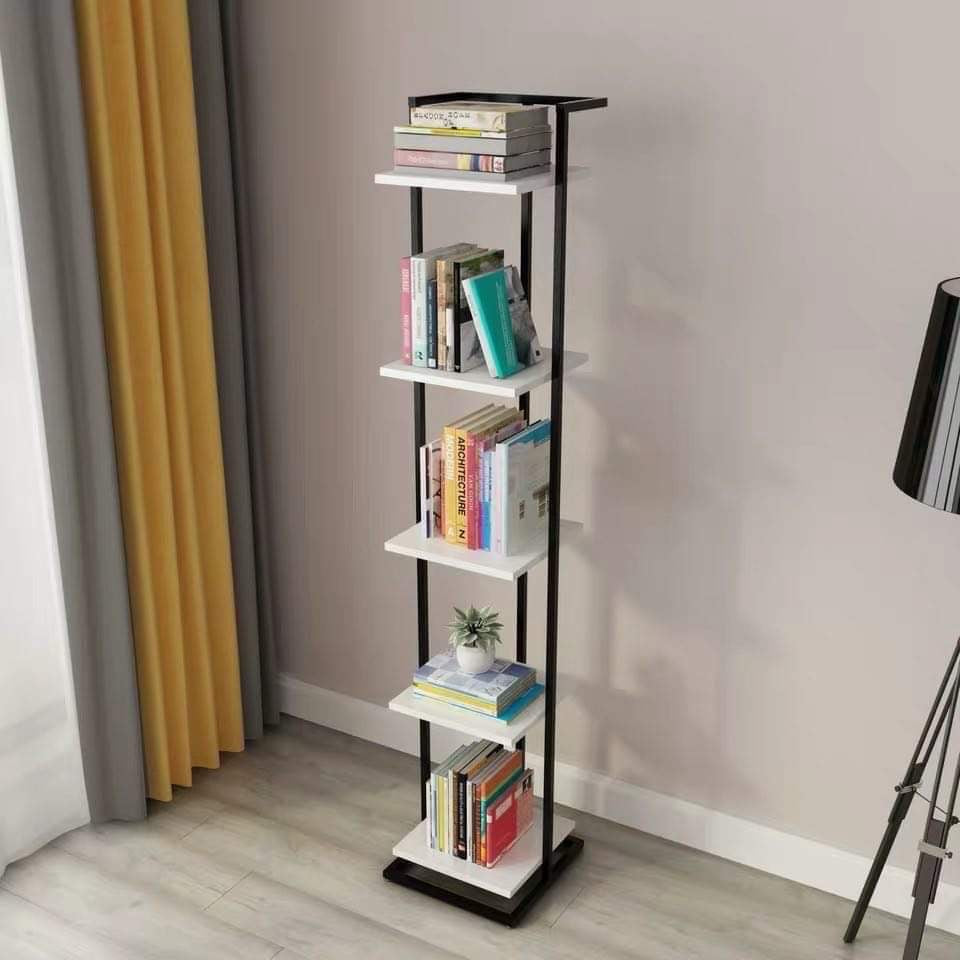Shelton Shelf (White-Black)