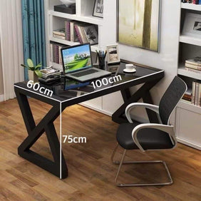 Winter Black Office Table