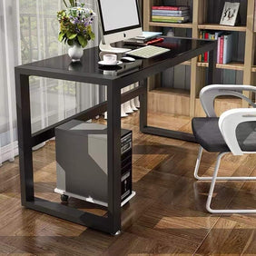 Mark Black Office Table