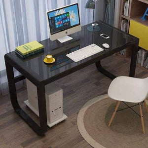 Macey Office Table in Black