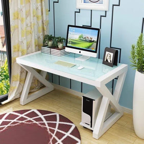 Winter White Office Table