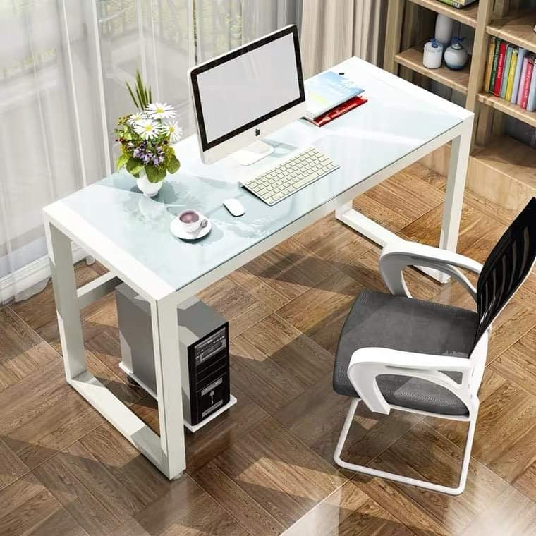 Mark White Office Table