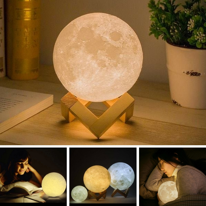 Apogee - Mystical Moon Nightlight Lamp