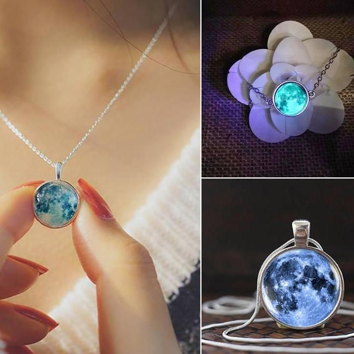 Glow In The Dark Charms - Necklace, Bracelet & Earrings - Corollaa
