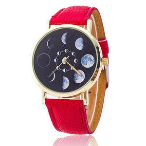 BLACKHEART MOON PHASES WATCH - Corollaa