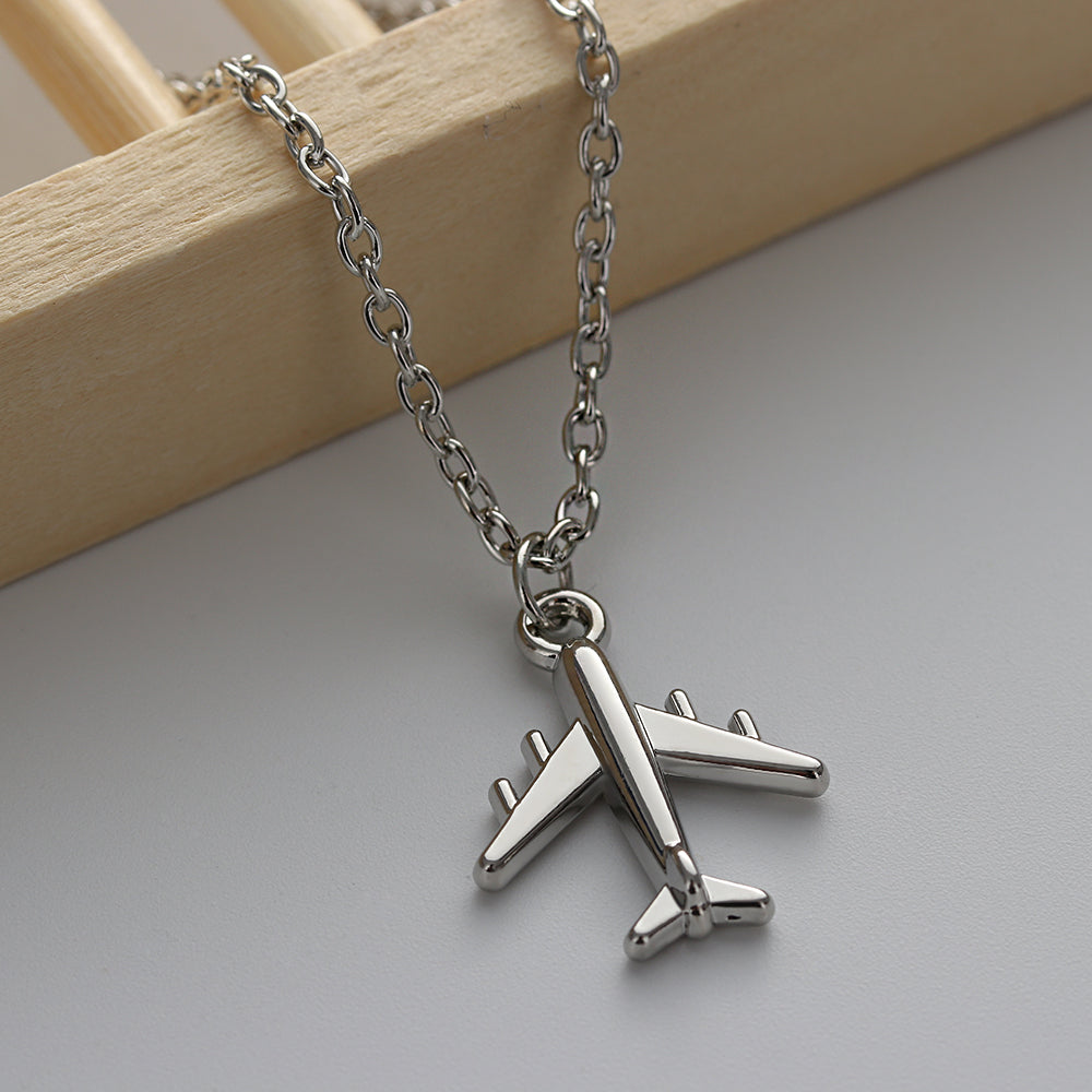 Aircraft Pendant Necklace