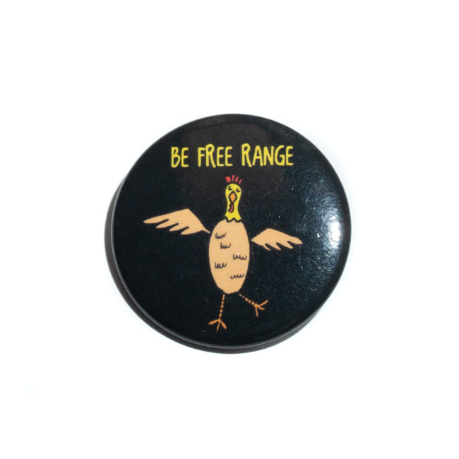 Be Free Range Pin