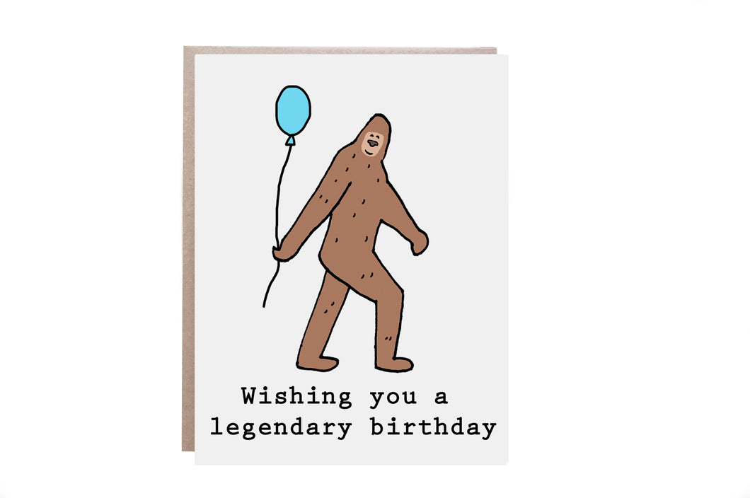 Big Foot Birthday
